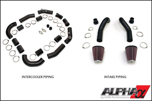 Alpha Performance R35 GT-R Induction Kit - TopSpeed Motorsports - 1