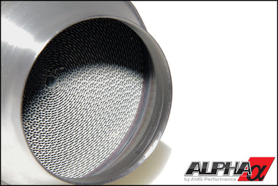 ALPHA PERFORMANCE R35 GT-R 90MM CATTED MIDPIPE - TopSpeed Motorsports - 3