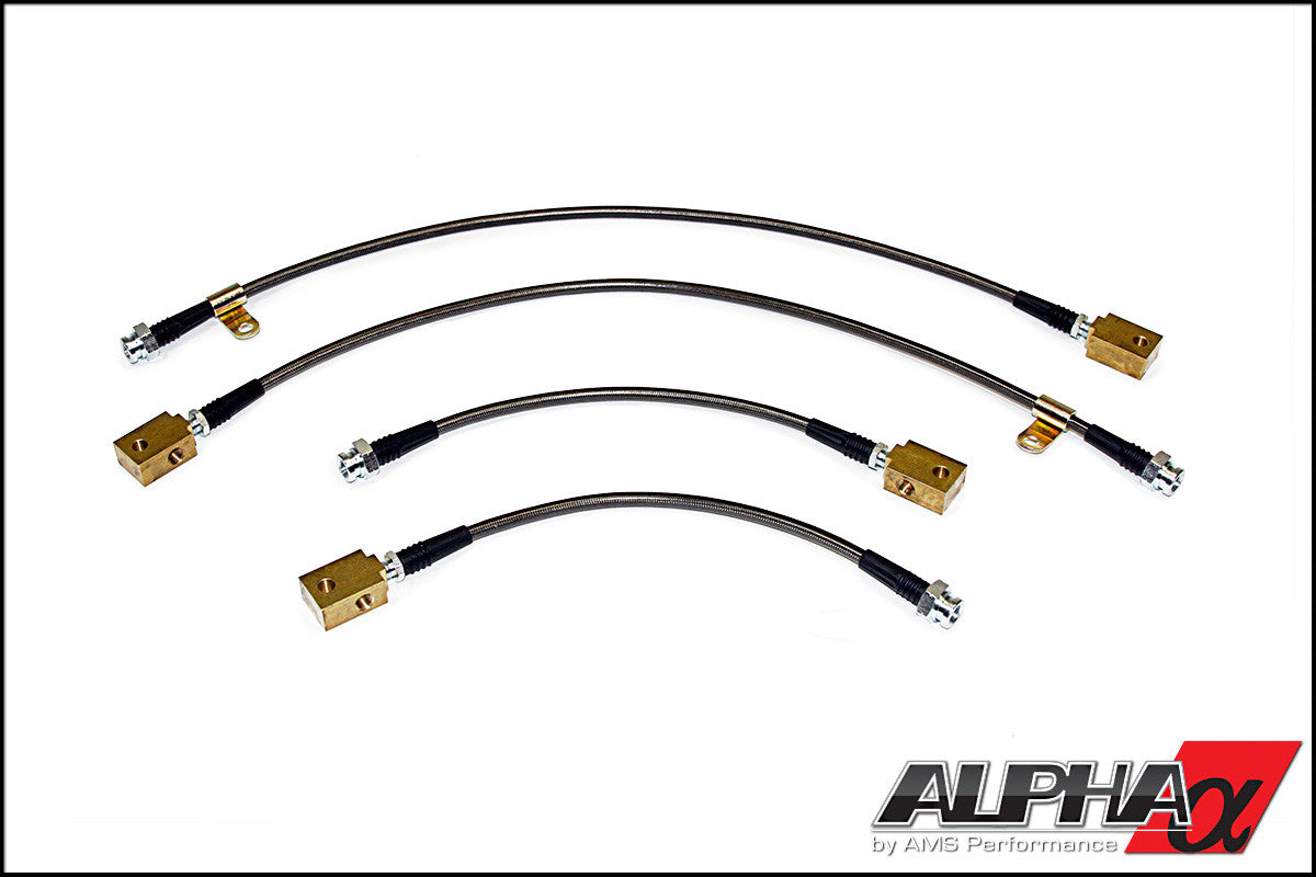 ALPHA PERFORMANCE R35 GT-R RACE STYLE SS BRAKE LINES - TopSpeed Motorsports