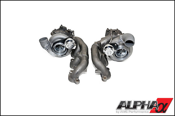 ALPHA 9 Bolt on turbocharger upgrade kit for the Nissan GT-R *Billet wheel*