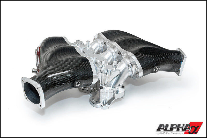 AMS Alpha Nissan R35 GT-R Intake Manifold - TopSpeed Motorsports - 1