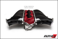 AMS Alpha Nissan R35 GT-R Intake Manifold - TopSpeed Motorsports - 4