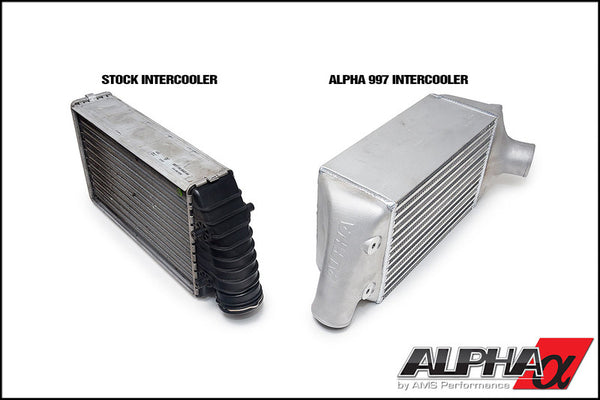 AMS Alpha Performance Porsche 997.1TT Intercooler System