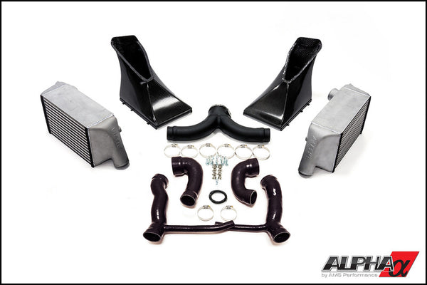 AMS Alpha Performance Porsche 997.2TT Intercooler System