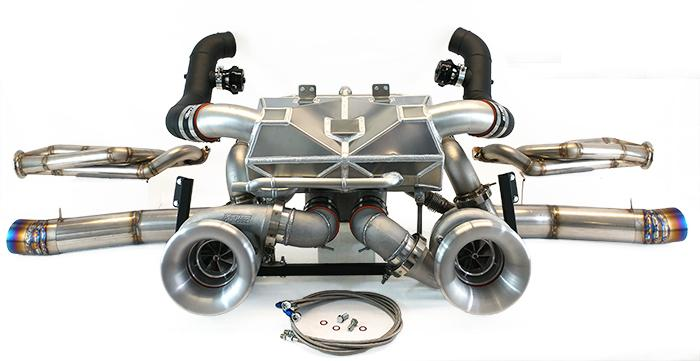 ETS 2008-2019 Nissan GTR Front Facing Drag Turbo Kit
