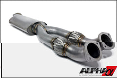 ALPHA PERFORMANCE R35 GT-R 90MM MIDPIPE / Y-PIPE - TopSpeed Motorsports - 2