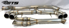 "ETS Nissan GTR 4.0"" (102mm) Stainless Steel *RACE* Exhaust System WITH Y-Pipe"
