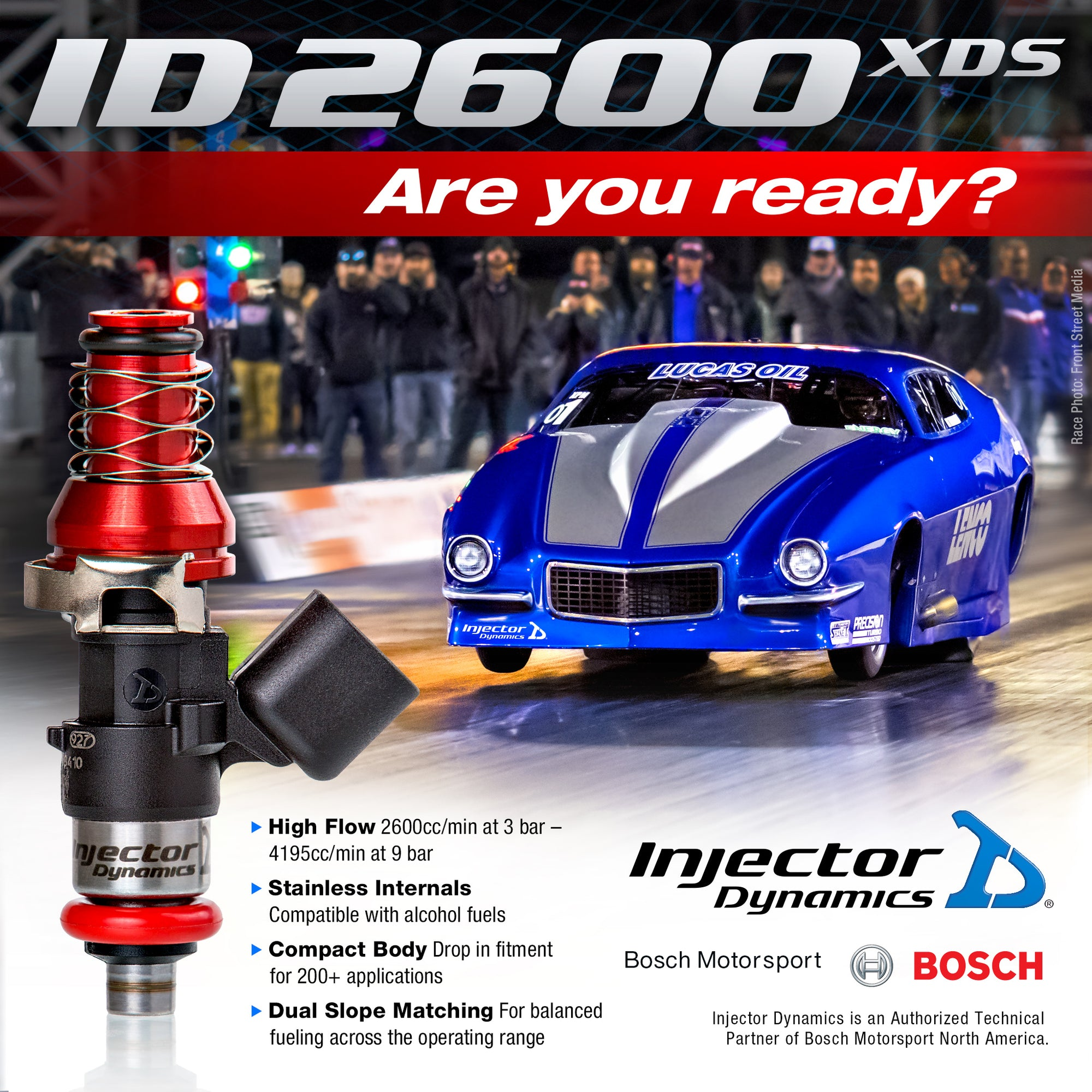 ID2600-XDS Injectors for R35 GT-R