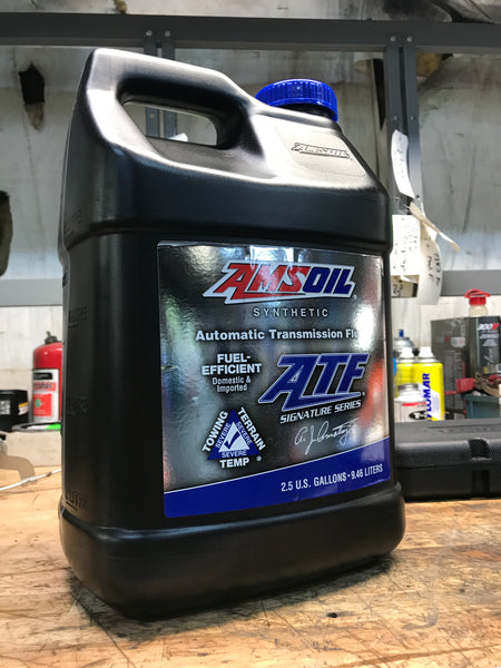 Amsoil Signature Series Fuel-Efficient Synthetic Automatic Transmission Fluid