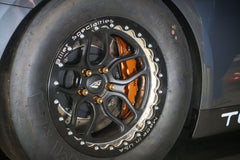 "TSM 17"" Beadlock Drag Wheel & Slick Package for R35 Nissan GT-R"