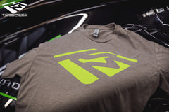 Emblem Shirt - Stone Gray/Green