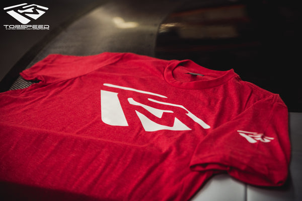 Emblem Shirt - Red/White