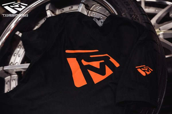 Emblem Shirt - Black/Orange
