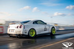 "TSM 18"" Front Drag Wheels for R35 GT-R"