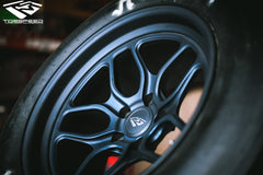 "TSM 17"" Drag Wheel & Slick Package for R35 Nissan GT-R"