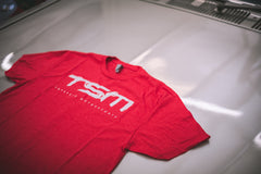 Geared Up Shirt - Red/Gray