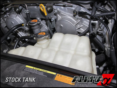 ALPHA PERFORMANCE R35 GT-R COOLANT EXPANSION TANK KIT - TopSpeed Motorsports - 3