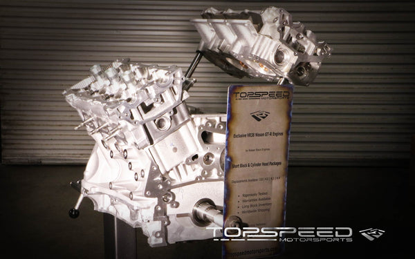 TSM 4.4L Stroker Race Short Block for R35 Nissan GT-R