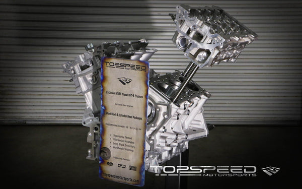 TSM 4.1L Stroker Race Short Block for R35 Nissan GT-R