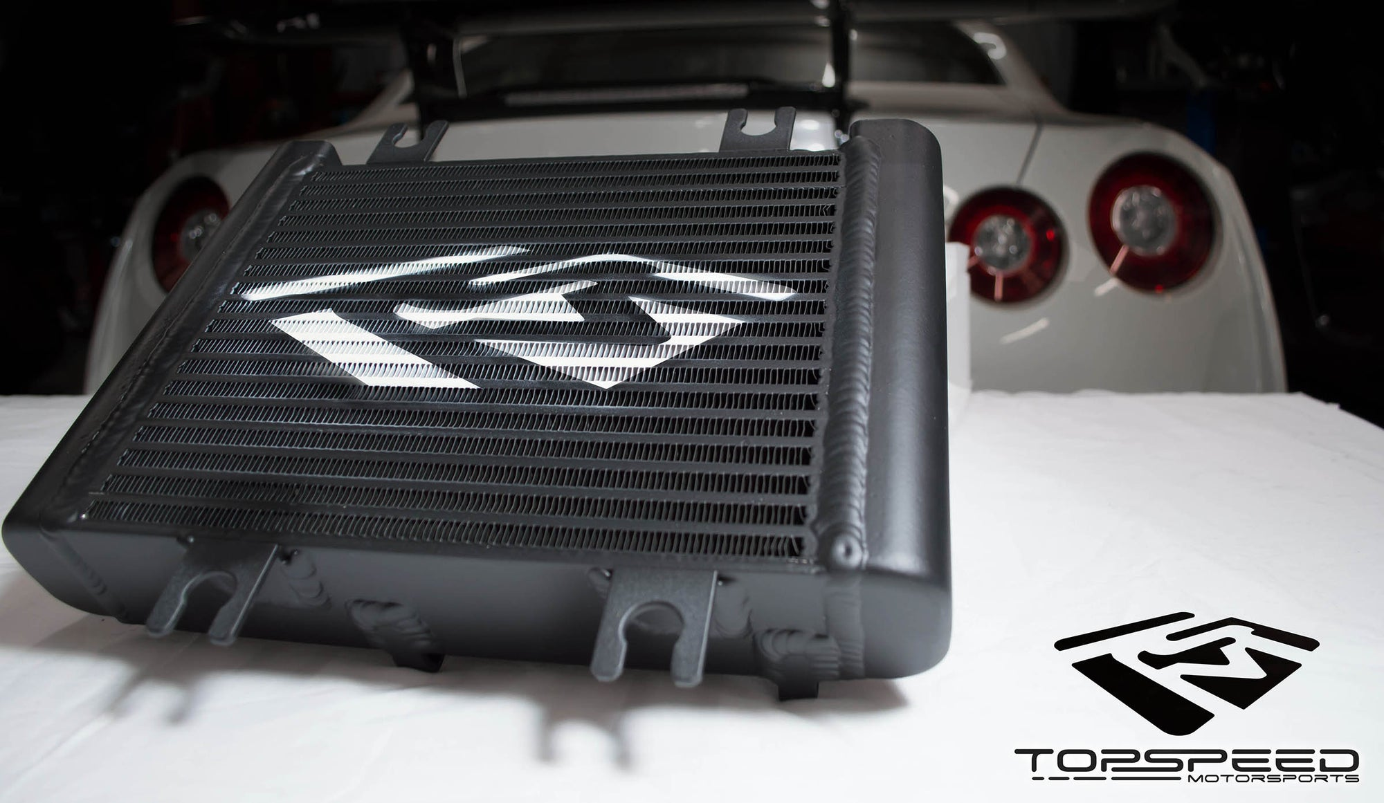TSM R35 GT-R Oil Cooler Upgrade