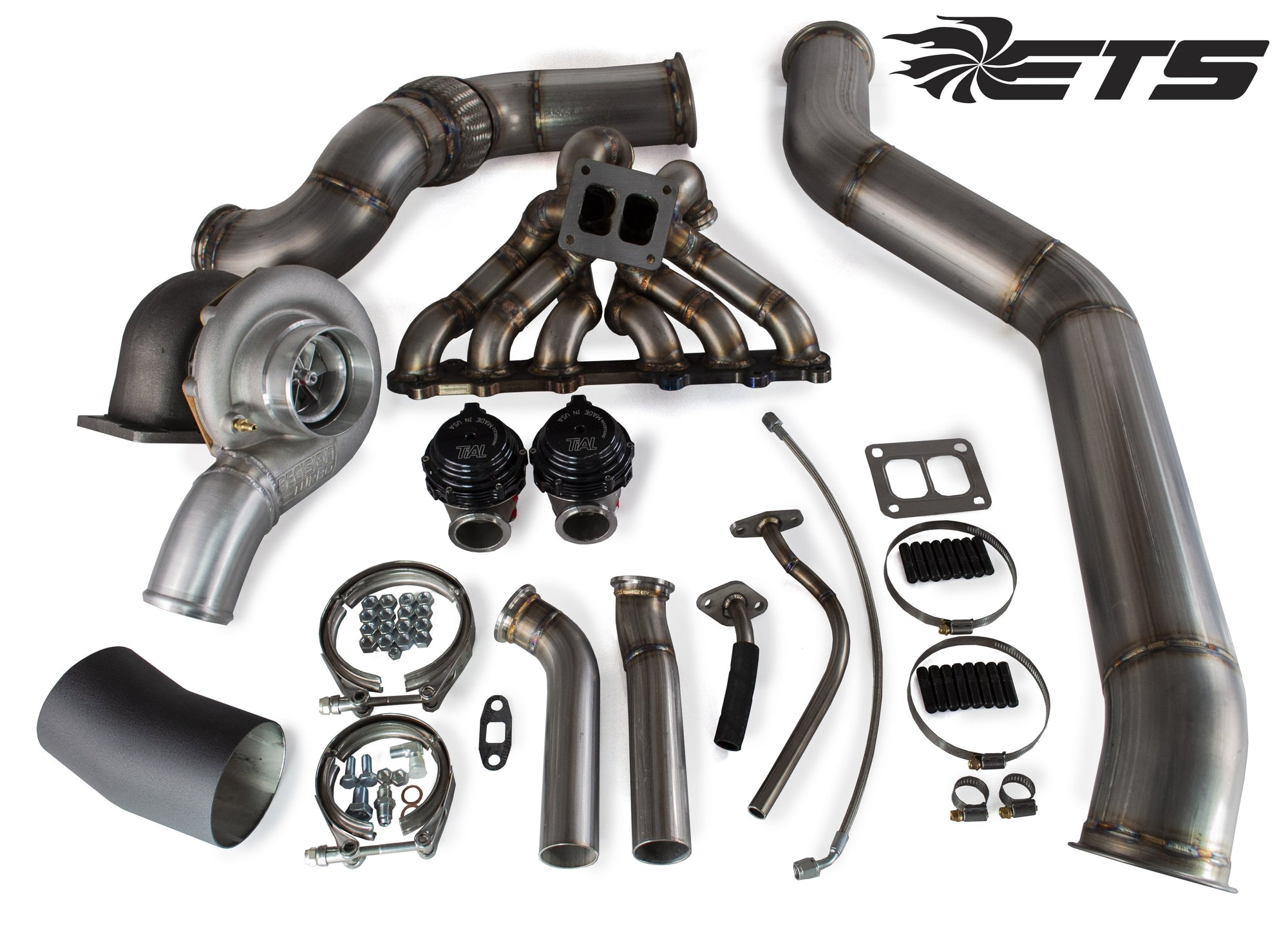 ETS 93-98 Toyota Supra Twinscroll Turbo Kit