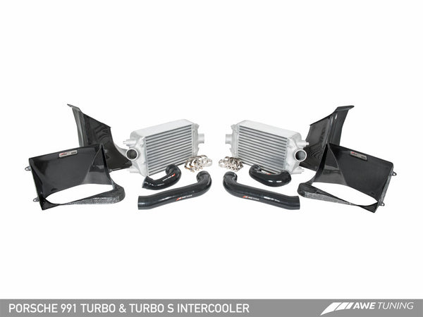 AWE Tuning Intercooler Kit For Porsche 991 Turbo / Turbo S