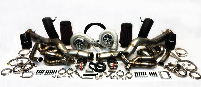 ETS 2008-2019 Nissan GTR T4 Top Mounted Turbo Kit