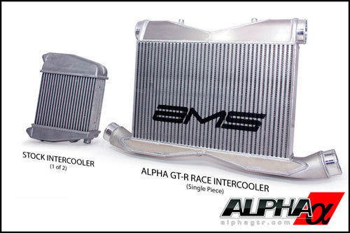 Alpha Performance R35 GT-R Race Front Mount Intercooler