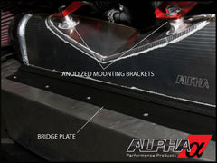 Alpha Performance R35 GT-R Race Front Mount Intercooler - TopSpeed Motorsports - 5