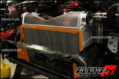 Alpha Performance R35 GT-R Race Front Mount Intercooler - TopSpeed Motorsports - 9