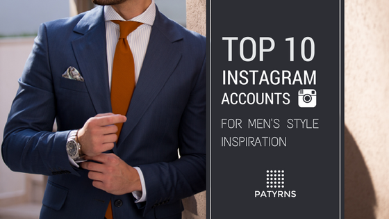 Top 10 Instagram Accounts for Men's Style Inspiration
