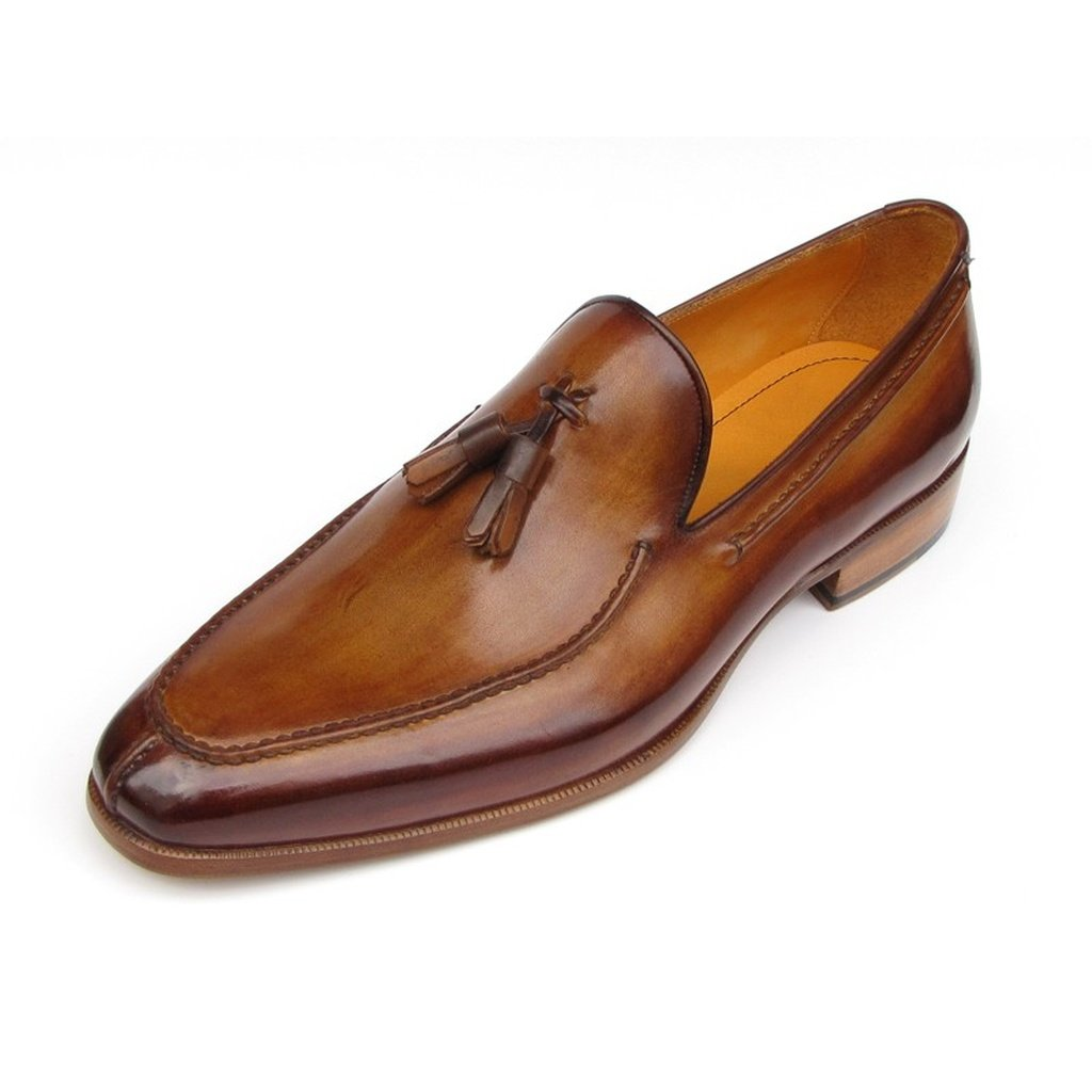 Men's Tassel Loafer Camel & Brown