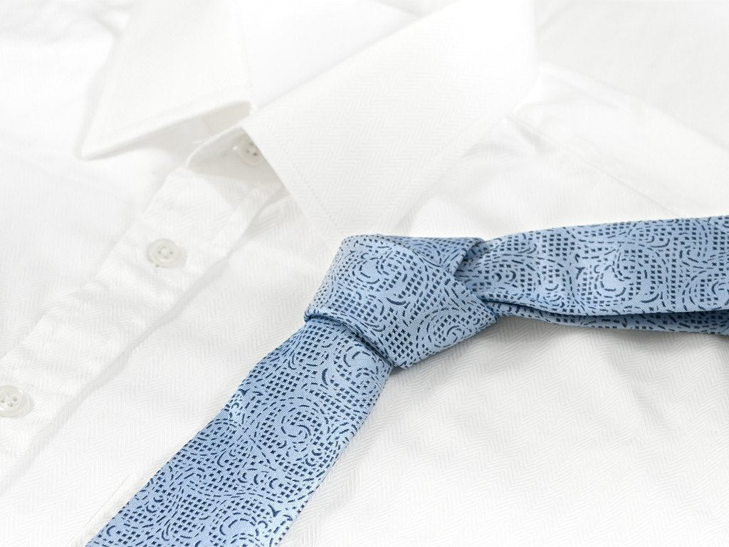 Sky Blue Necktie - Shirt