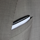 Black Border Pocket Square