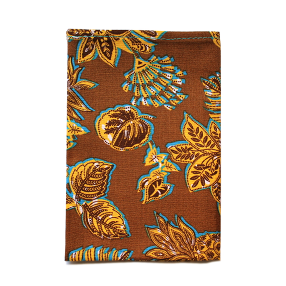 Brown Pineapple Pocket Square - Patyrns