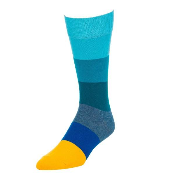 Colorful Big Striped Socks - Patyrns