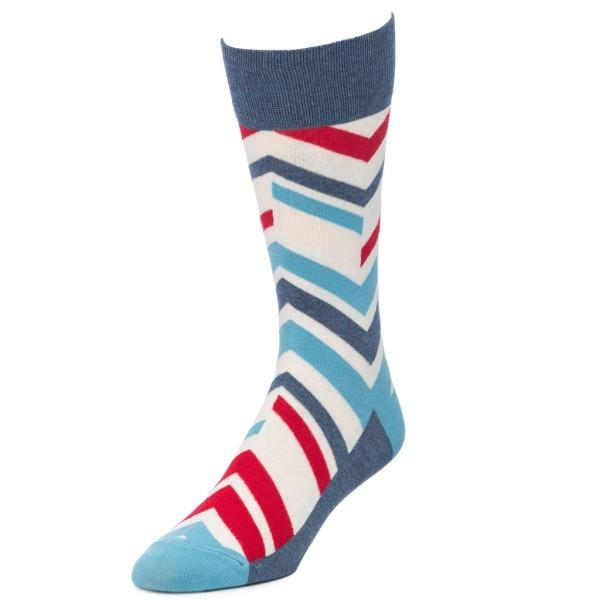Chevron Striped Socks for Men