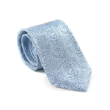 Sky Blue Necktie - Patyrns