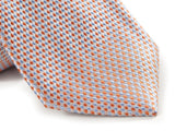 Orange Necktie - Close Up