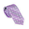 Purple Medallion Necktie
