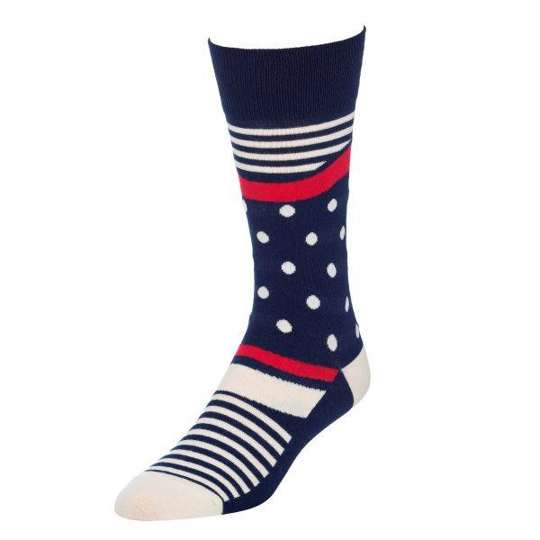 Stripes and Polka Dots - Socks for Men
