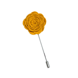 Yellow Lapel Flower