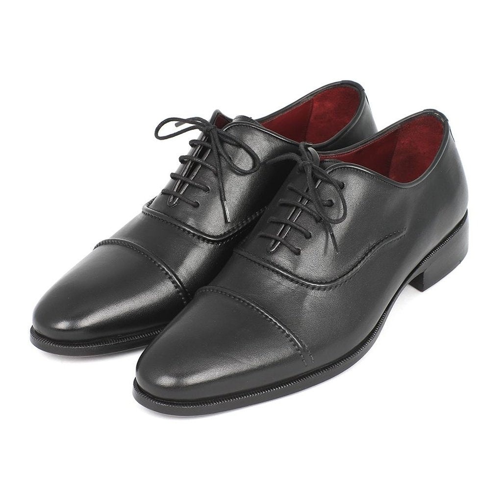 Men's Captoe Oxfords Black