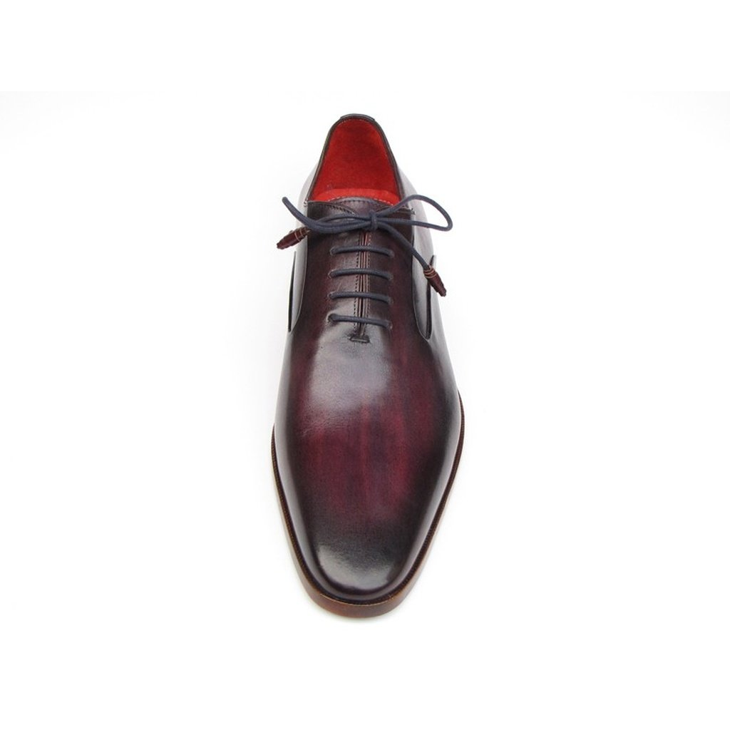 Men's Plain Toe Oxfords Purple Shoes
