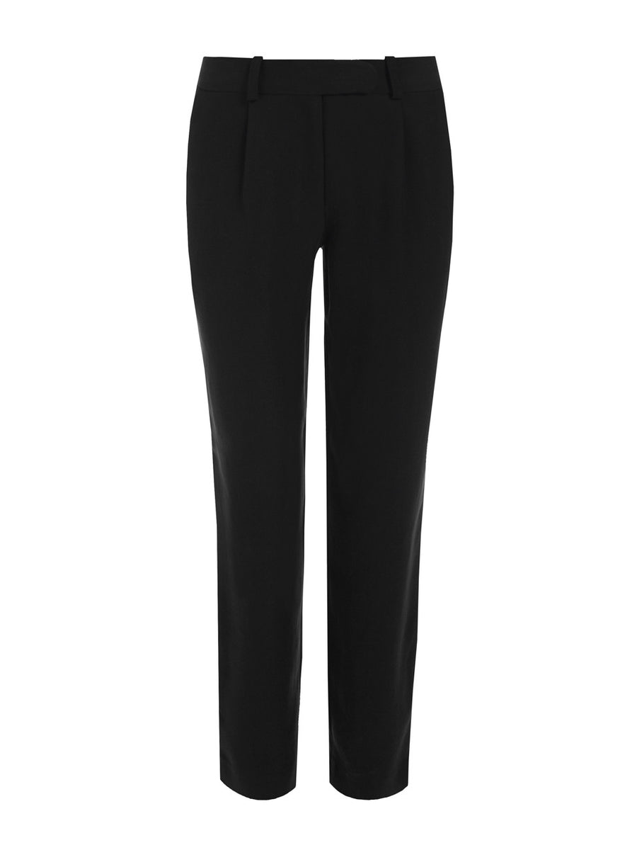 Line Trousers Black