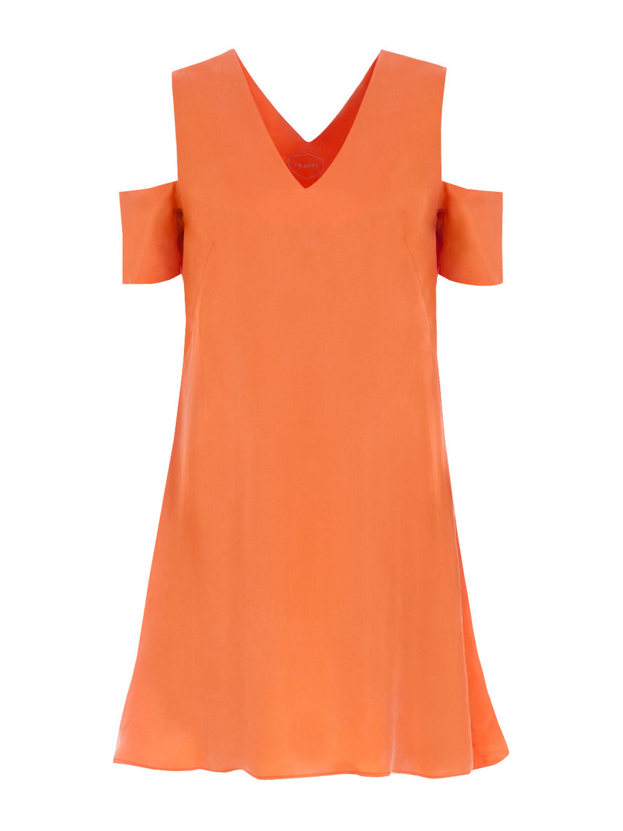 V series Dress Orange