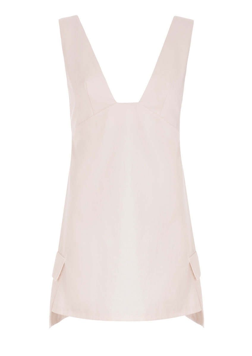 Swan Dress Off-White
