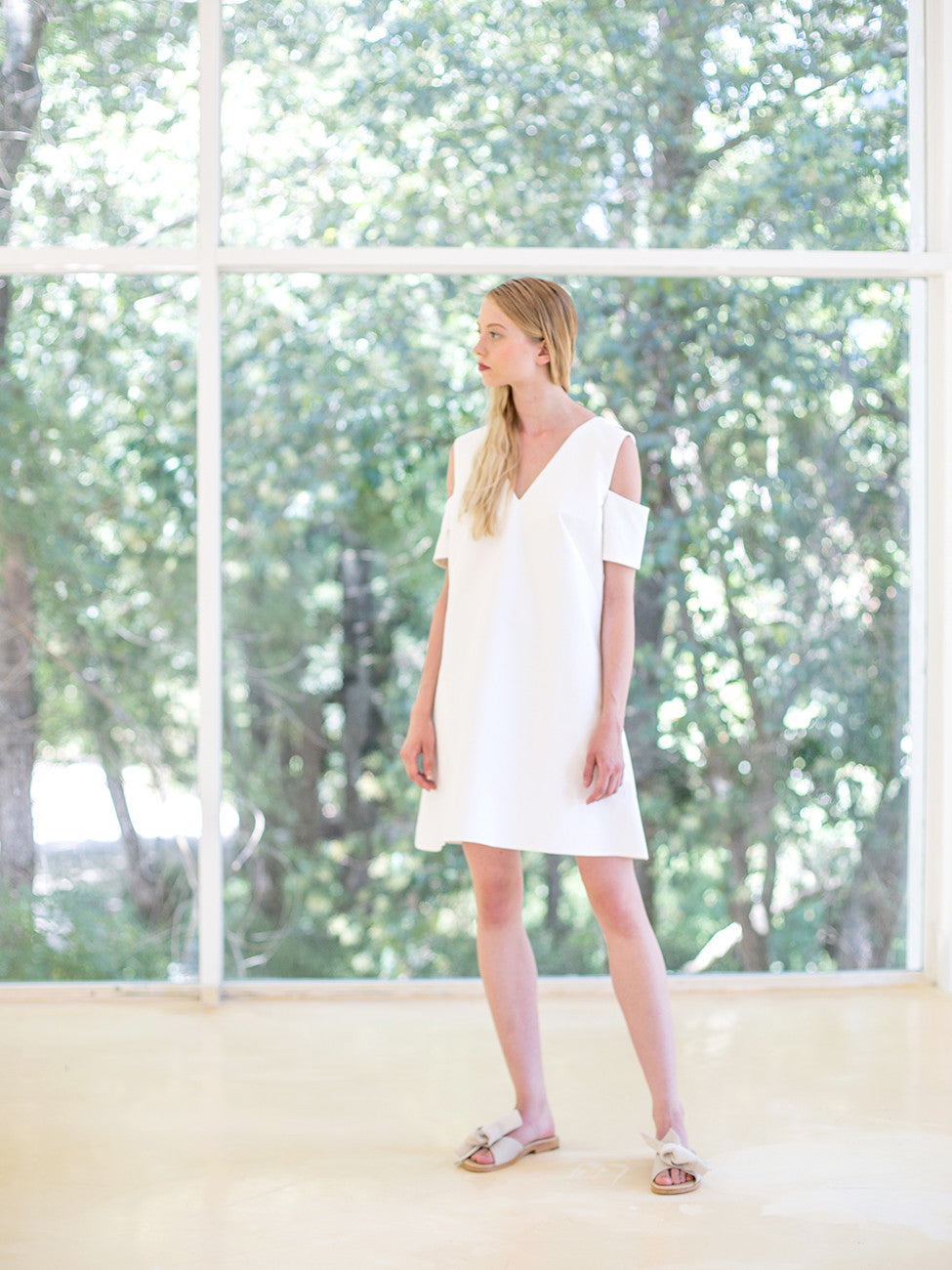 V series Dress White