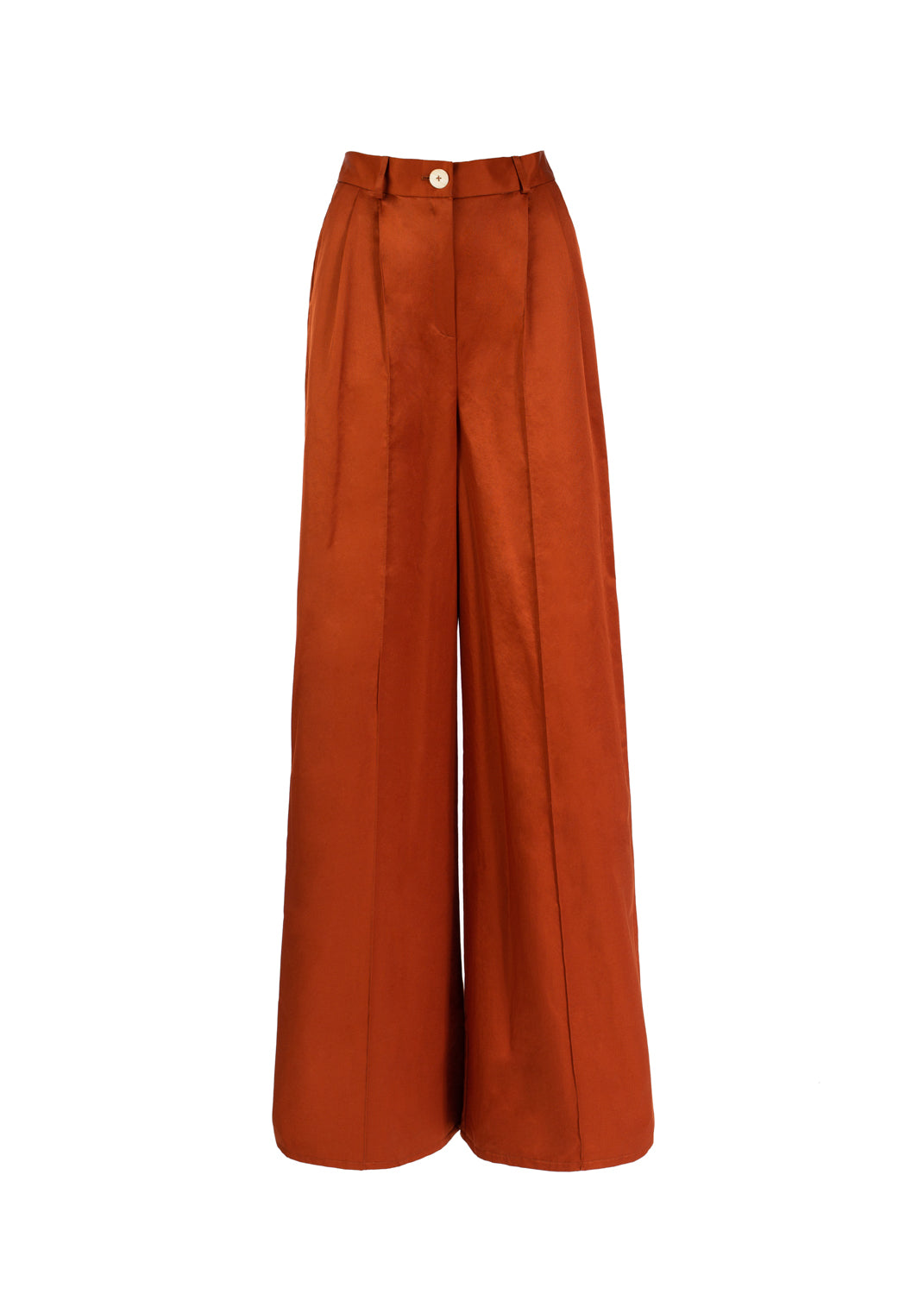 Pleat Trousers Copper