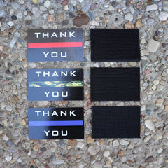 Triple Thin Line Patch Bundle